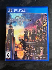 Ps4 Kingdom Hearts 3 (barely used!)