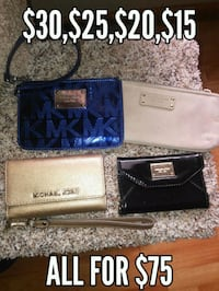 black and blue leather wallet Citrus Heights, 95621