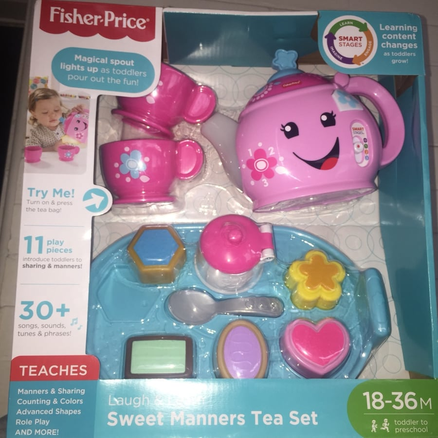 Toddler tea set