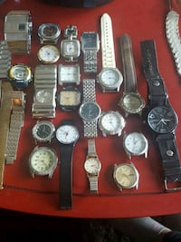 Bunch of old watches Surrey, V3R 6A3
