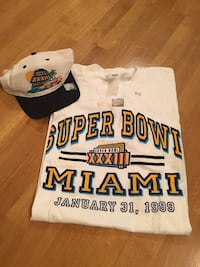 Super Bowl XXXIII Official Clothing Vancouver, V5Z