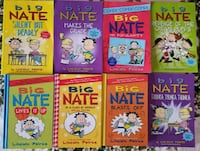 """Big Nate""  Assorted books Toronto, M4C 5M6"