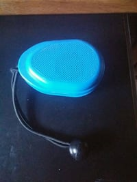 blue and black portable speaker Fresno