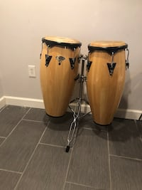 Conga set with stand Bowie, 20721