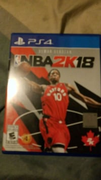 NBA 2K18 PS4 game  Toronto, M4C 1G1