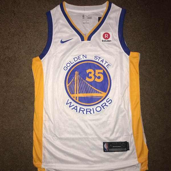 premium selection 5ffdc a9537 GSW Kevin Durant Jersey