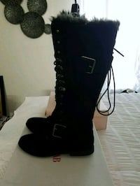 black suede knee high boots size 10 Jacksonville, 32250