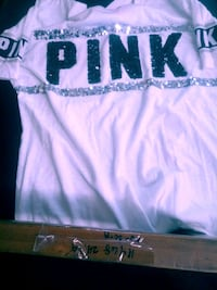 Pink shirt sequence size small Darby, 19023
