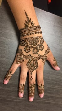 Henna/Mehndi temporary tattoo Schaumburg, 60193