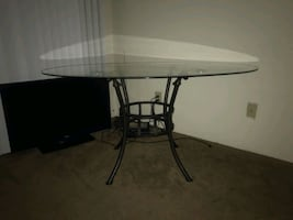 $50 glass dining room table