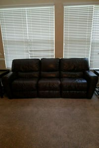 Reclining Couch, Loveseat and recliner Elgin, 29045