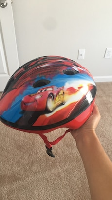 toddler's The Cars theme bicycle helmet
