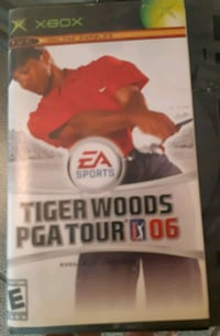 Tiger Woods XBOX 360 game Calgary, T2K 5S5