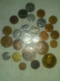 round gold-colored coin collection Edmonton, T5T 0R1