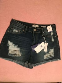 black denim Miss Me shorts Regina, S4N 3Y5