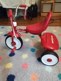 red and white Radio Flyer trike West Springfield