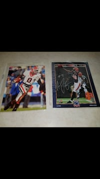 2 Aj Green signed 8x10's Cold Spring, 41076