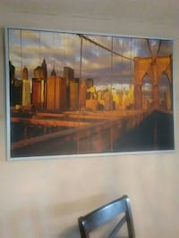 Brooklyn Bridge New York painting Brampton, L6T 3W2