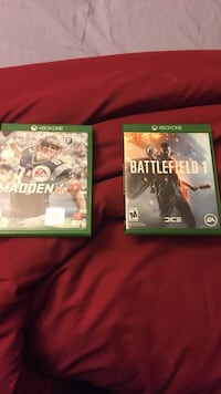 two Xbox One game cases Fairbanks, 99709