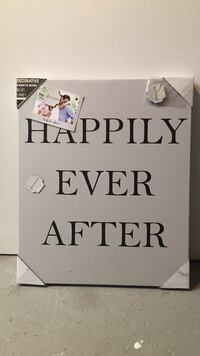 Canvas 'Happily Ever After' St Albert