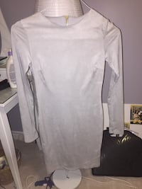 lux la suede grey dress xs Markham, L6B 0S8