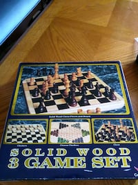 Solid wood 3 game set  Fairfax, 22033