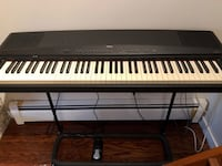 Yamaha piano 76 key with brand new pedal and stand  Burnaby, V3J 7J4