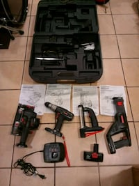 Craftsman power tools 19.2 volts 4 piece set carry case included.