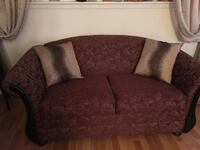 brown fabric 2-seat sofa Vaughan, L4H
