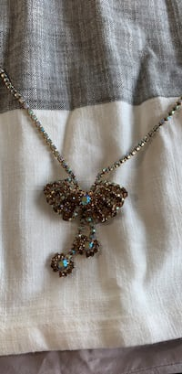 Vintage Jewelry Necklace Sheridan, 80110