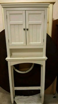 white wooden cabinet with mirror Maple Ridge, V2X 1C3