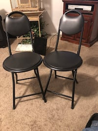 Two folding chairs in excellent condition Broken Arrow, 74012