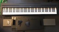 Yamaha P45 88-key digital piano with pedal, stand and bench Arlington, 22206