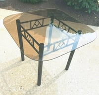 Glass Table ( dinette / card ) Yorkville