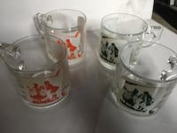 Glass mugs Vaughan, L4K 2C4