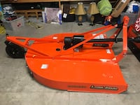 Original price $1540.00, plus tax.  Used once, selling to buy finish mower.  60 inch deck. High Springs, 32643