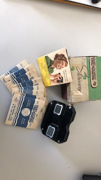1940's View-Master Stereoscope with 7 picture reels Westminster, 21157