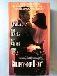 Bulletproof Heart vhs Baltimore