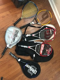 Youth Tennis racquets.