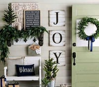 New farmhouse JOY shiplap letters HOME DECOR Wrightsville, 17368
