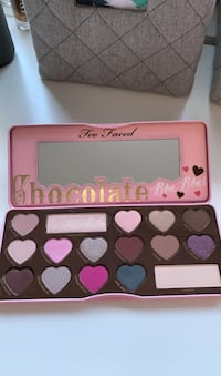 too faced chocolate eyeshadow pallet