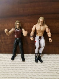 WWE Edge action figures.  Whitby, L1P 1A2
