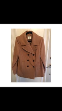Beige Double Breasted Coat - Brand New Toronto, M3M