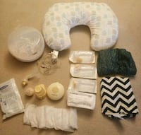 GUC breastfeed Pillow/cover/bottles lot Coquitlam