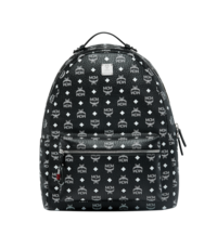Black and white mcm backpack  NEWYORK