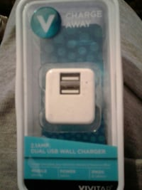white dual USB wall charger pack Bakersfield, 93309