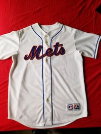 "METS ""SANTANA"" home Jersey sz M pre-owned  New York"