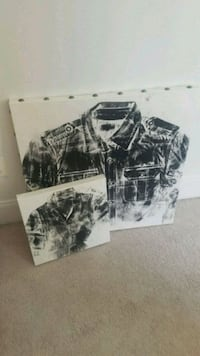 2 canvas Shirt prints Columbia, 21044