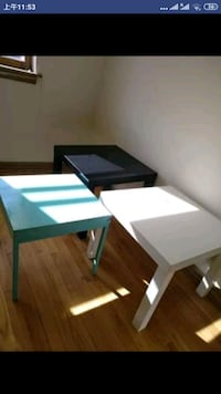 Long table & side tables