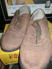 Size 8 fancy leather shoes
